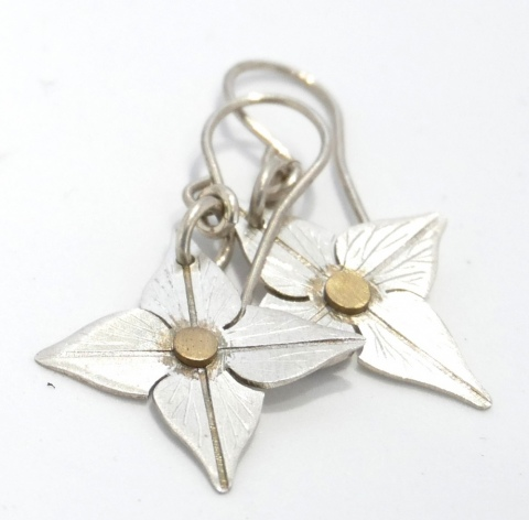 Pacific Flower Earing